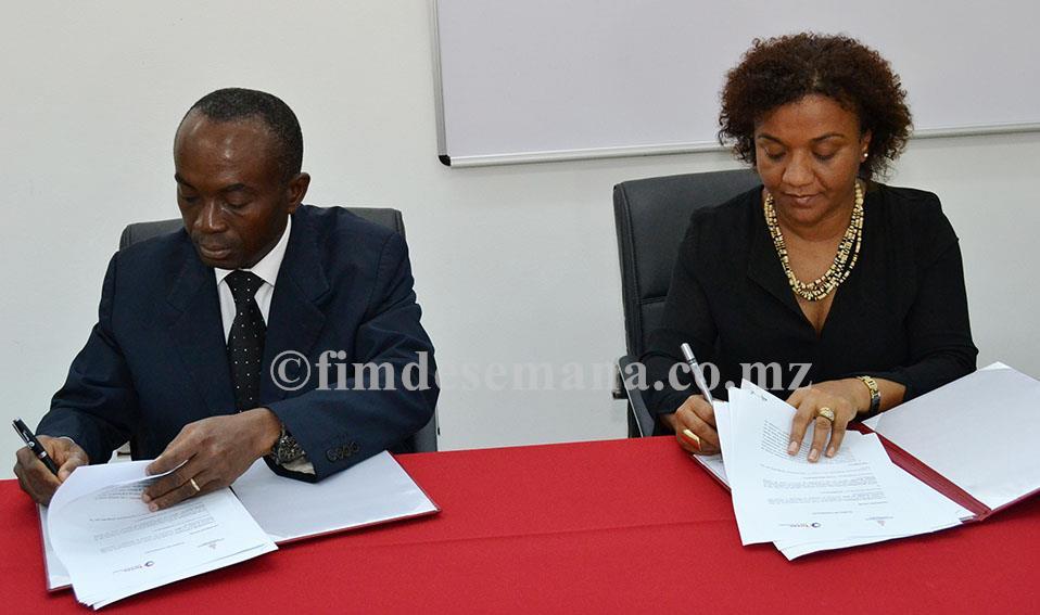 Assinatura de memorando entre a Universidade Politécnica e a Total Moçambique