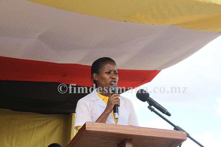 Elénia Macamo directora nacional adjunta de Assistência Médica do Ministério da Saúde