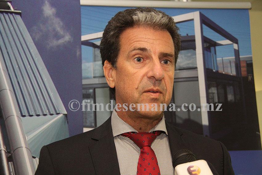 Jan Huesken chefe de Cooperação e Desenvolvimento da Embaixada do Reino dos Países Baixos
