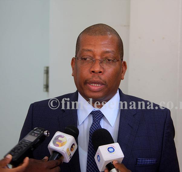 Jorge Nhambiu Ministro da Ciência e Tecnologia Ensino Superior e Técnico Profissional