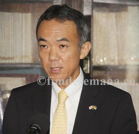 Katsuyoshi Sudo Representante Residente da JICA