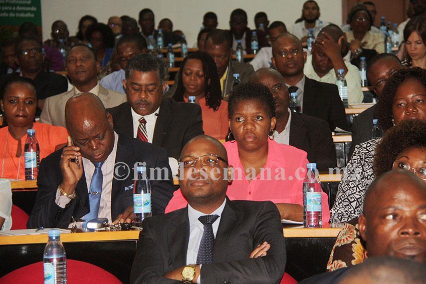 Participantes da Reunião com o Sector Empresarial sobre a Implementação da Reforma da Educação Profissional