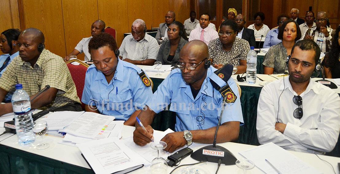Participantes no workshop de capacitação sobre o Operador Económico Autorizado em Moçambique