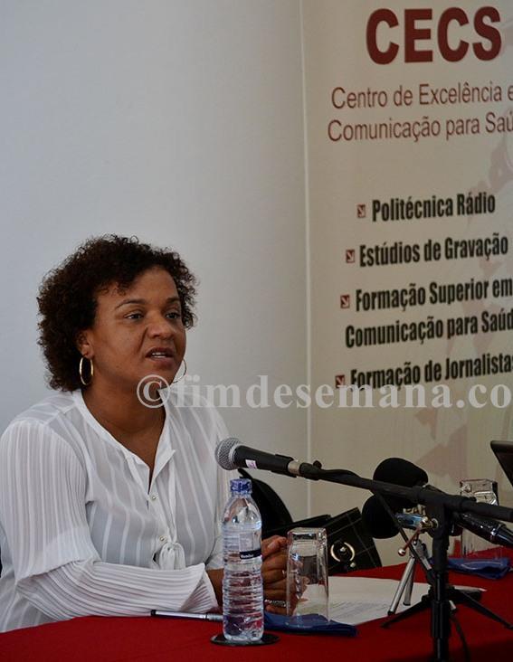 Rosânia da Silva directora executiva da Unidade de Extensão Cooperação Universitária UECU