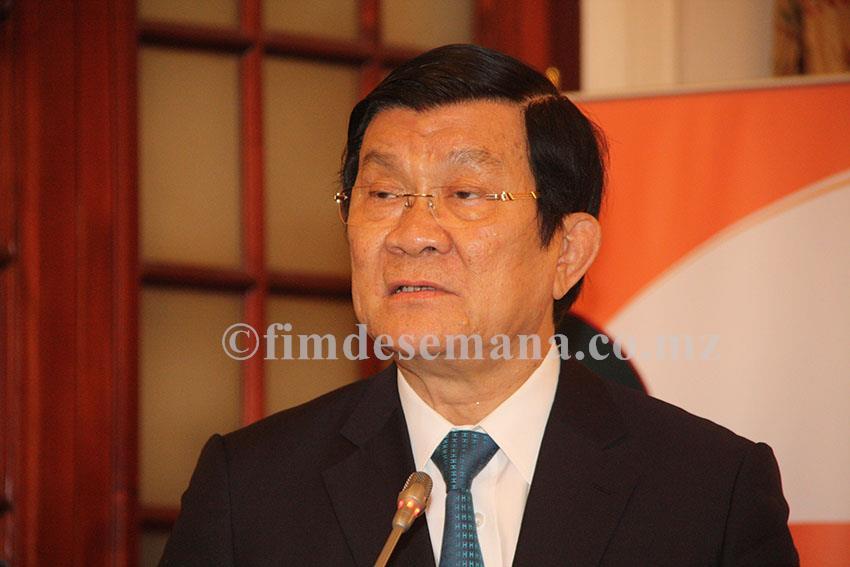 Truong Tan Sang Presidente da República Socialista do Vietname
