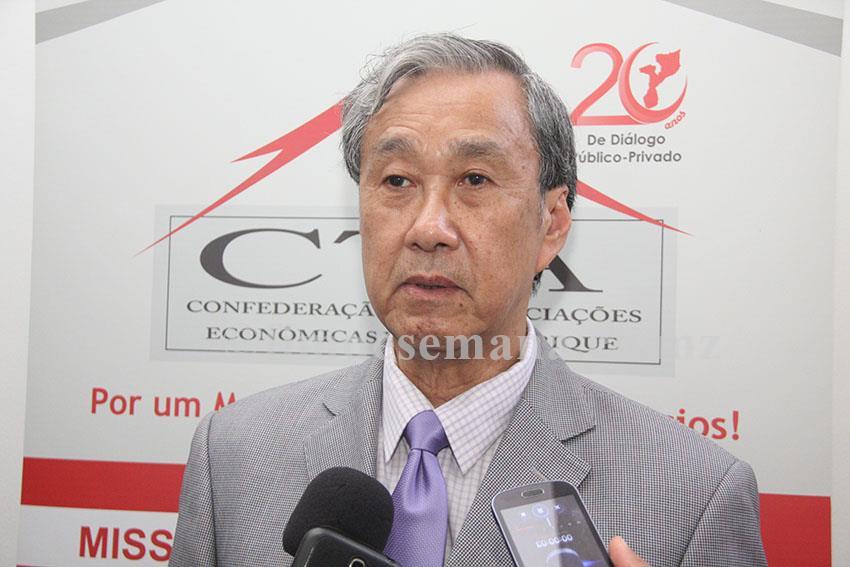 Wicharn Sirichai Ekawat Cônsul Honorário da República de Moçambique no Reino da Tailândia