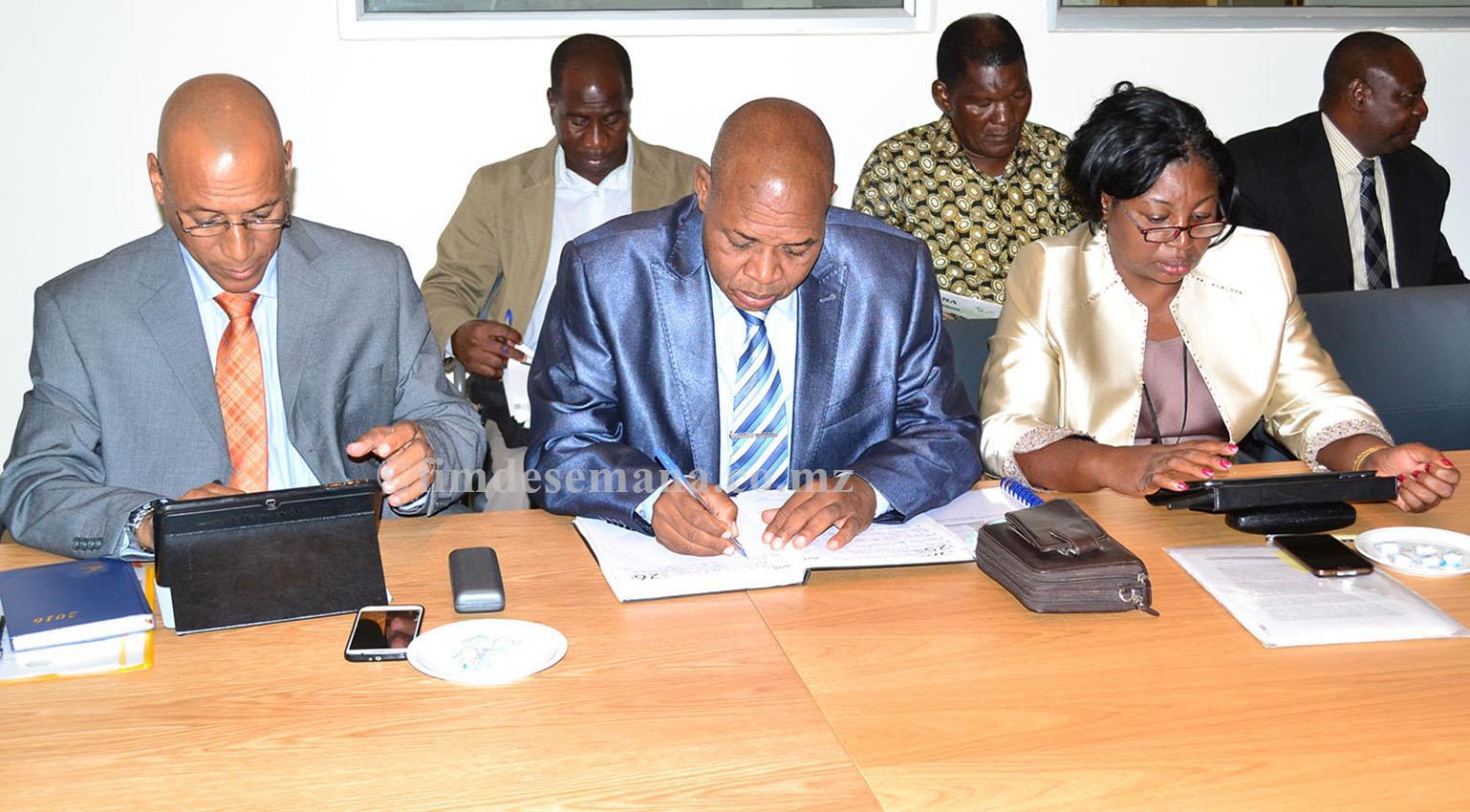 Participantes do Encontro com Directores Provinciais