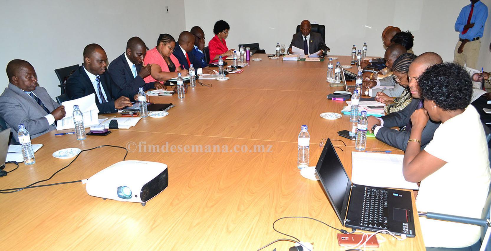 Participantes do Encontro com Directores Provinciais 2