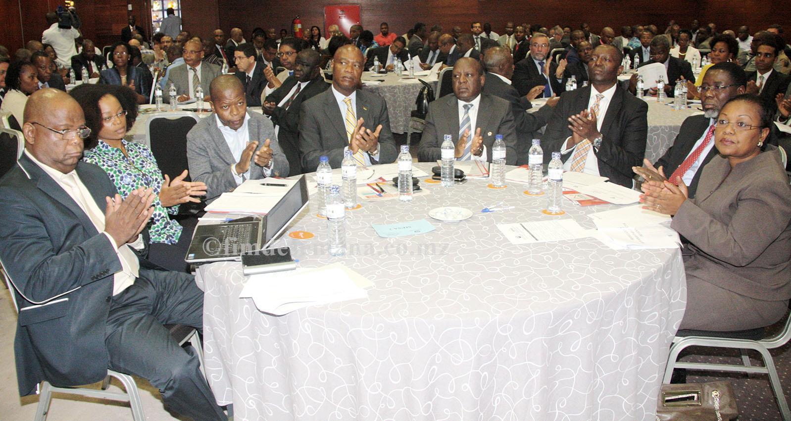 Participantes no III Conselho de Monitoria do Ambiente de Negócios CMAN CTA