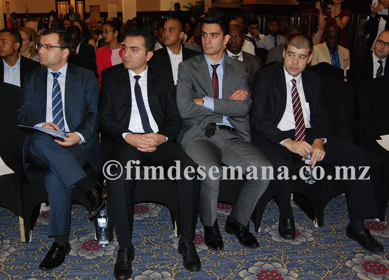 Participantes no encontro entre empresários da Turquia e Moçambique