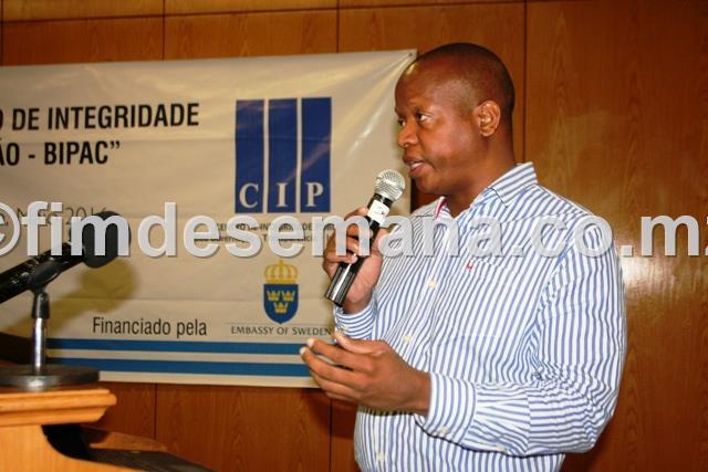 Baltazar Fael representante do CIP