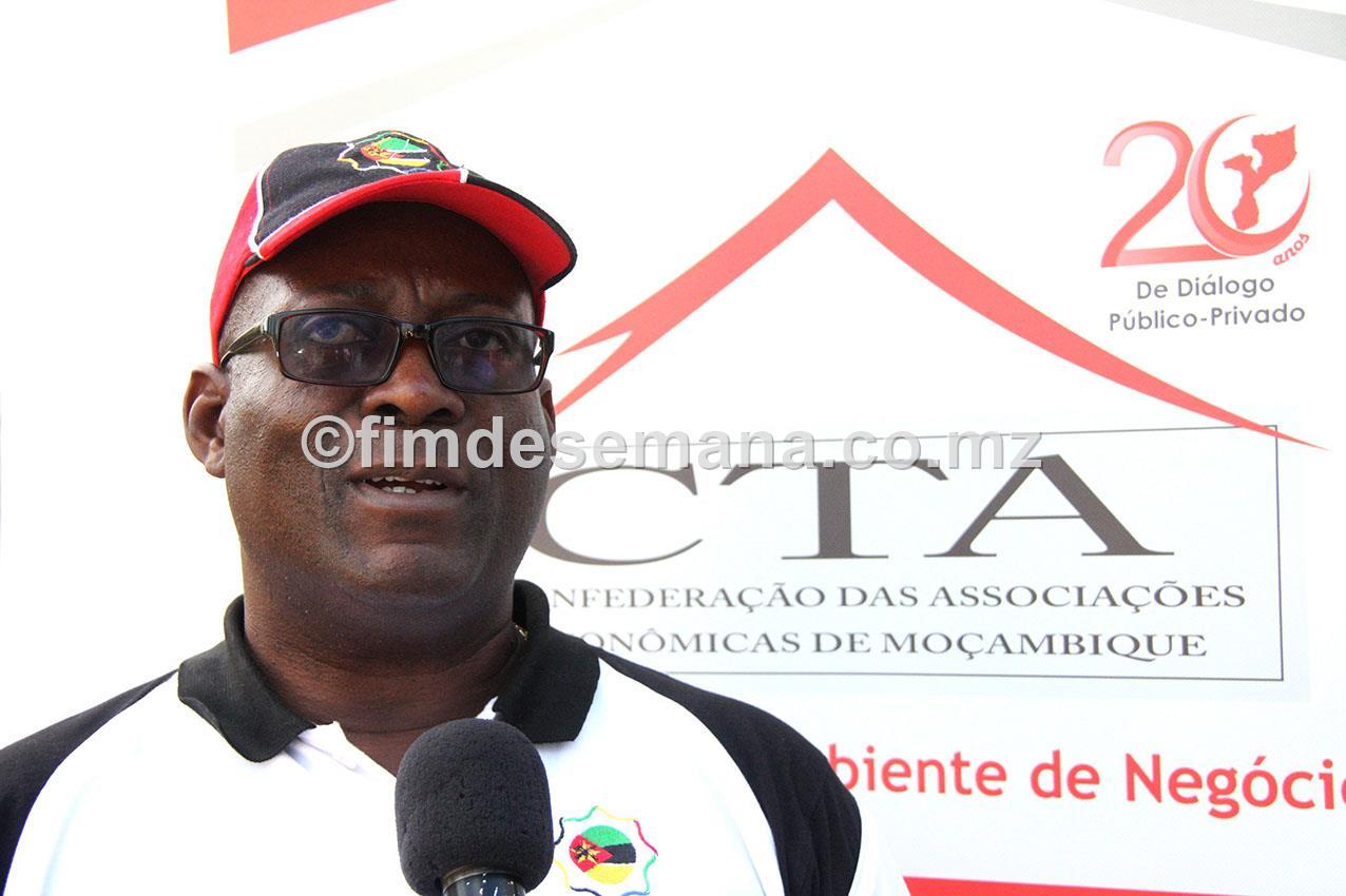 Cândido Bila Presidente do Conselho Empresarial da Província de Maputo