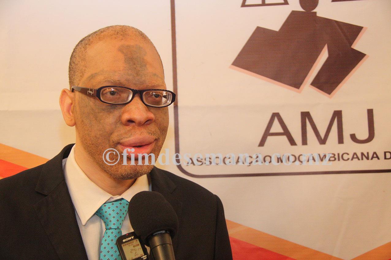Carlos Mondlane Presidente da Associação de Juízes de Moçambique
