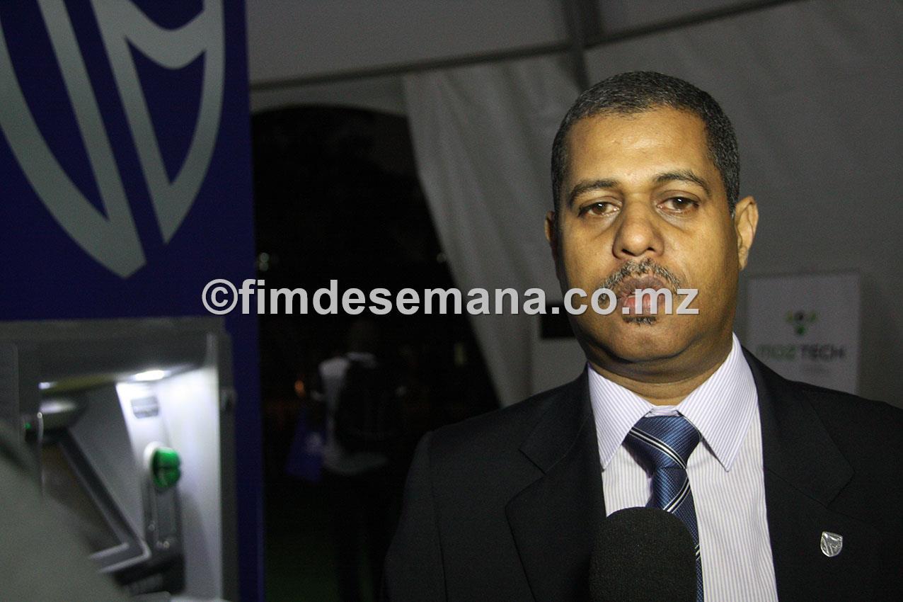 Faizal Daúde representante do Standard Bank