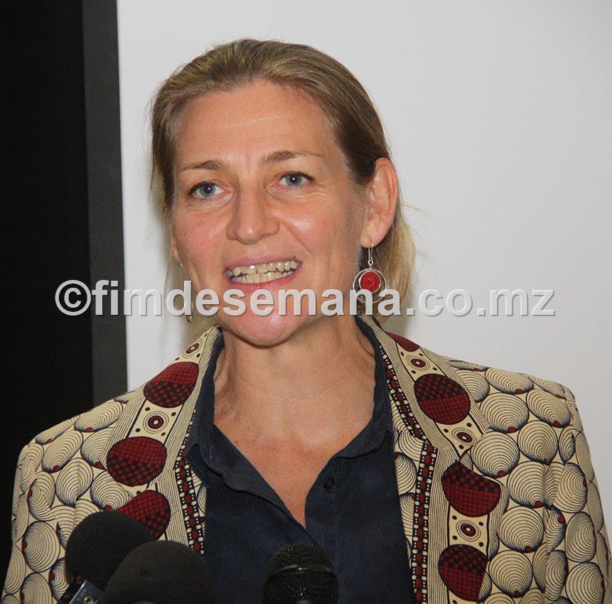 Irina Schoulgin Nyoni Embaixadora da Suécia