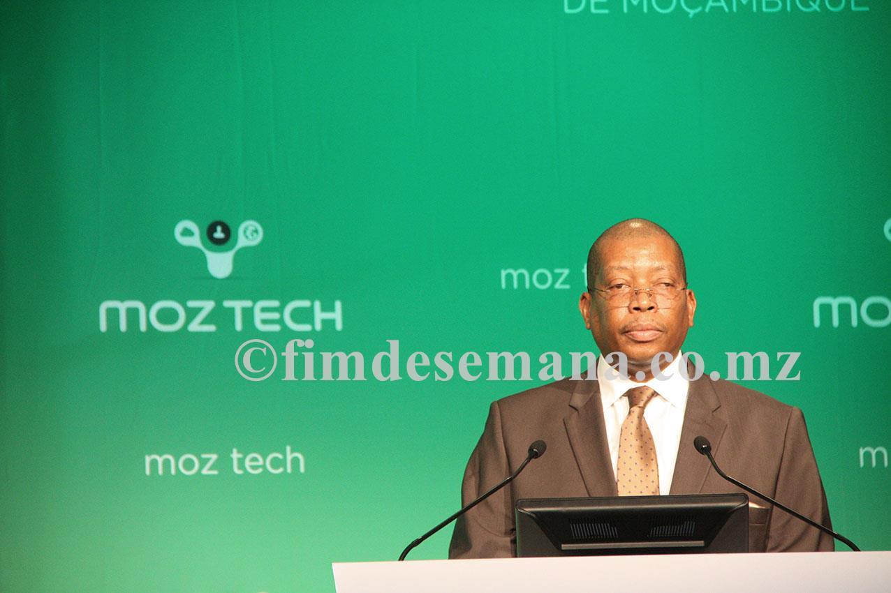 Jorge Nhambiu Ministro da Ciência e Tecnología Ensino Superior e Técnico Profissional