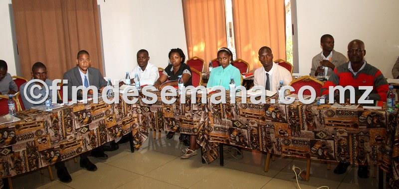 Participantes na capacitaçao dos CEPs em liderança
