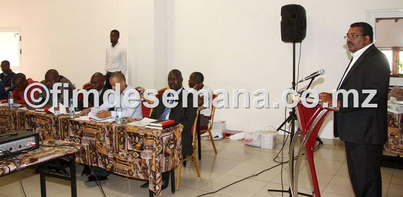 Participantes na capacitaçao dos CEPs em liderança 1