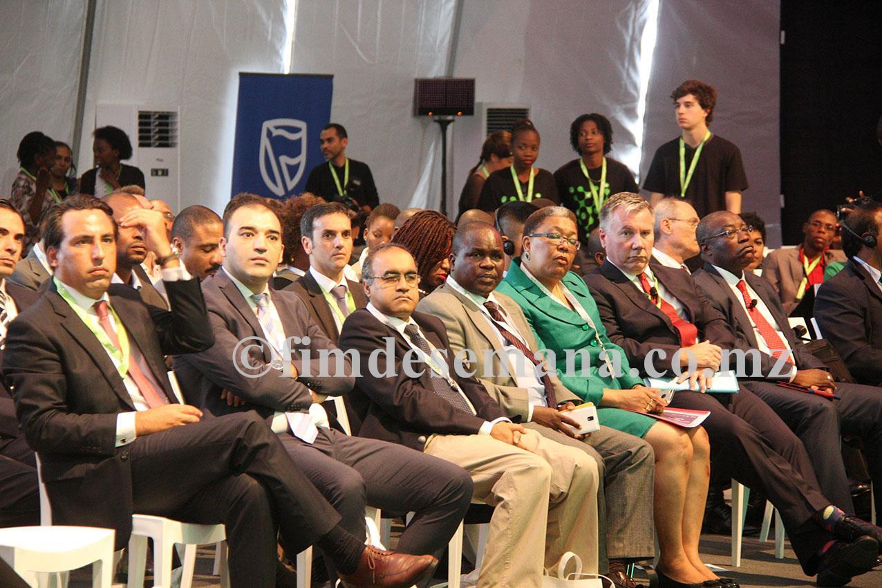 Participantes na cerimónia da abertura da III edição da MozTech