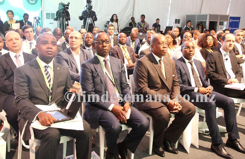 Participantes na cerimónia da abertura da III edição da MozTech 2