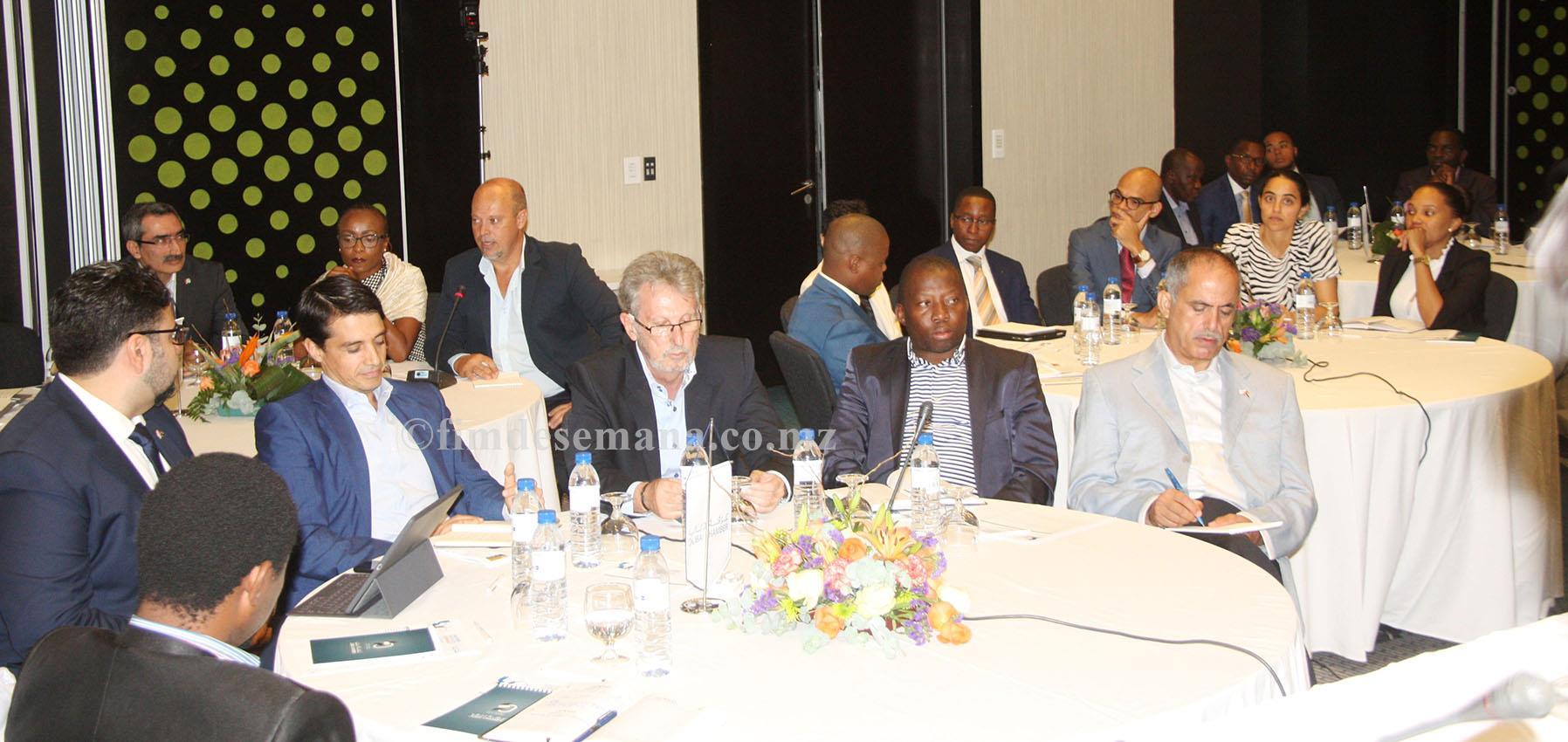 Participantes no Fórum de Negócios Moçambique Dubai
