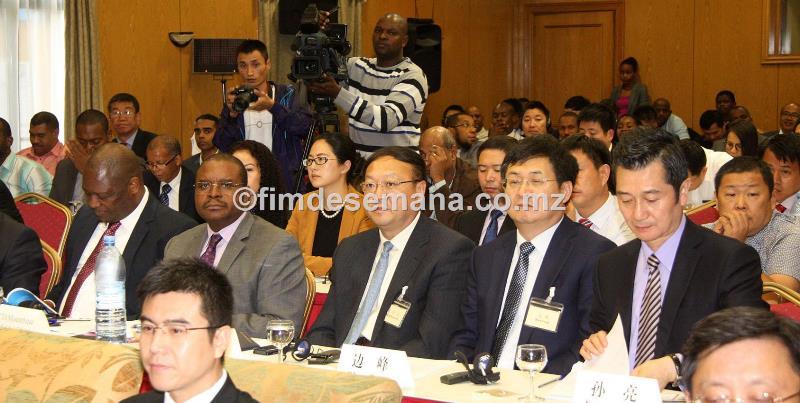 Participantes no Forúm de Negócios Moçambique China
