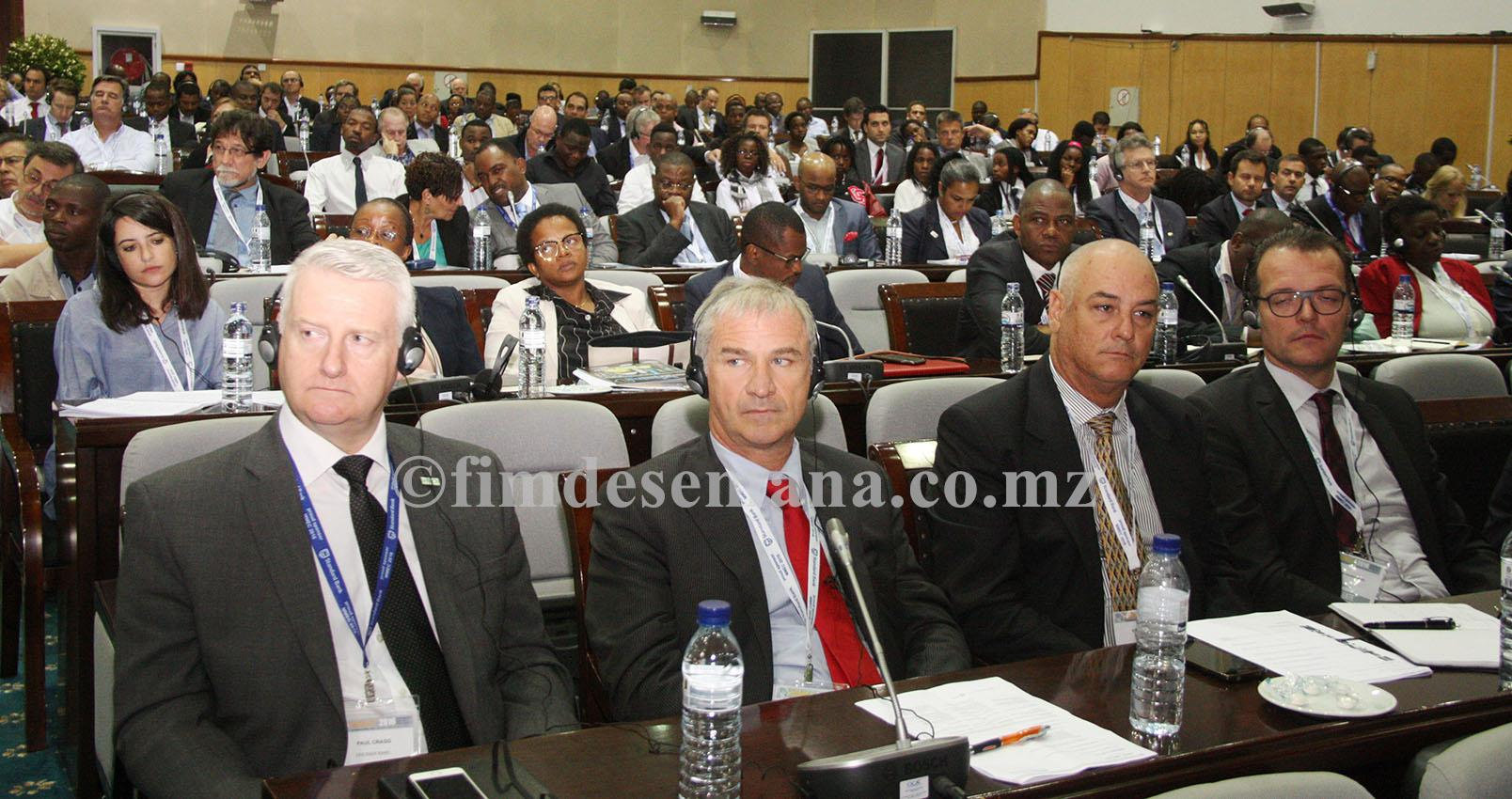 Participantes no Mozambique Mining Oil Gas Energy