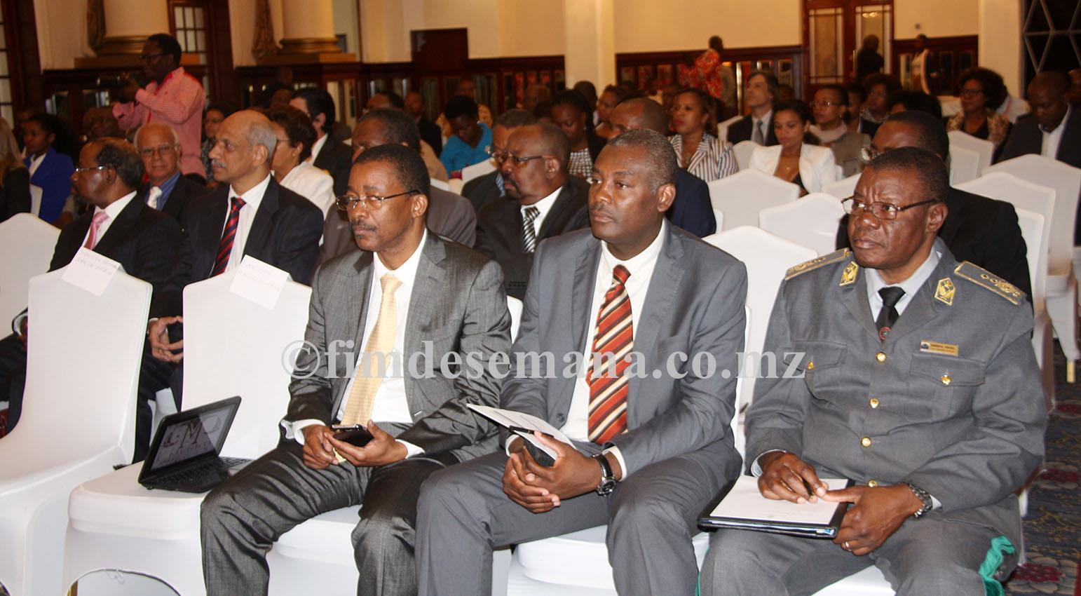 Participantes no Seminário sobre Crime Organizado os desafios dos orgãos de administração da Justiça