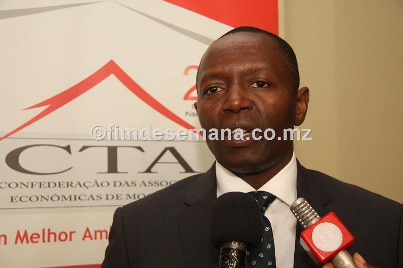 Rogério Samo Gudo Vice Presidente da CTA