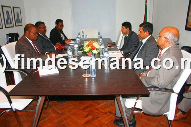 Encontro entre o Alto Comissário da India e a CTA