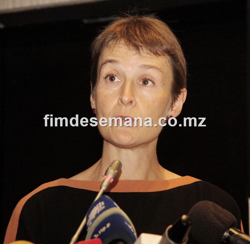 Joanna Kuenssberg Alta Comissária do Reino Unido