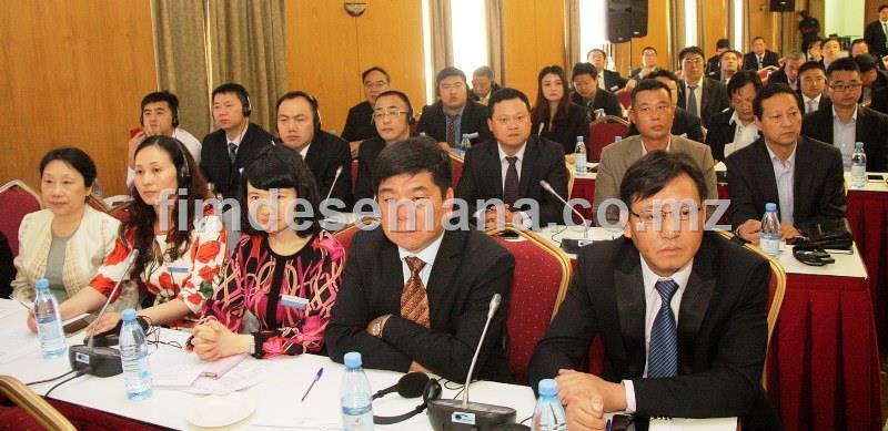 Participantes no Fórum de Promoção Cooperação Capacidade Produtiva e Investimento China Moçambique