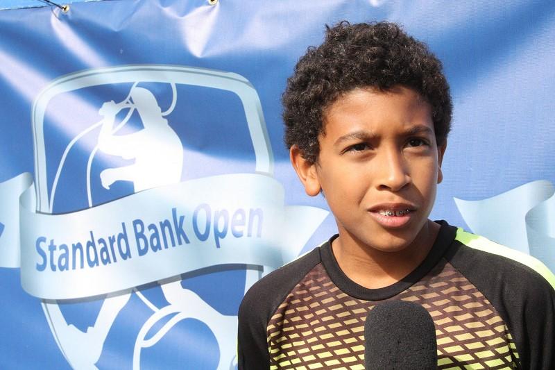 Ricardo Jorge Jacinto vencedor juniores rapazes sub 12