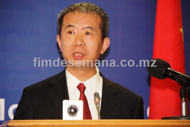 Su Jian Embaixador da China em Moçambique