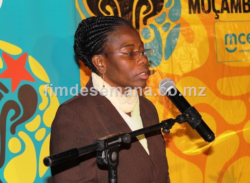 Marta Mapilele vice presidente da FMF