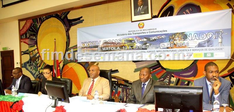 Mesa que presidiu o 34º Conselho Coordenador do MTC