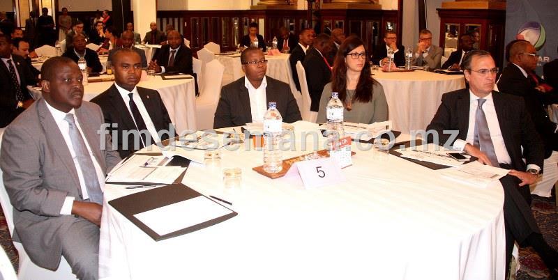 Participantes no Conselho Empresarial Nacional sob tema Avaliar o Ambiente de Negócios na Conjuntura Actual e Perspectivas