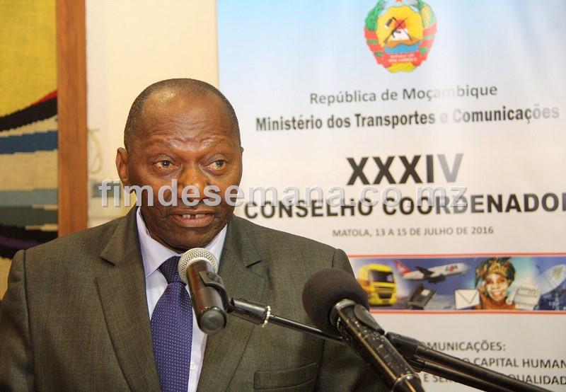 Raimundo Diomba Governador da Província de Maputo