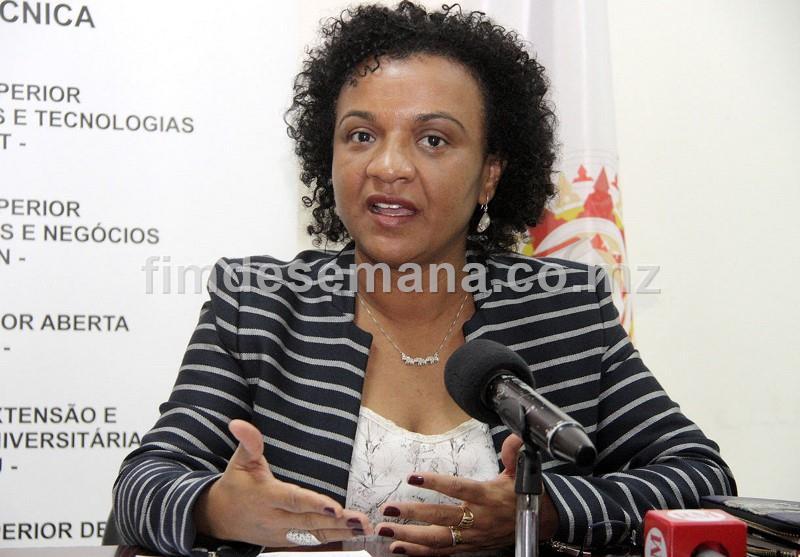 Rosânia da Silva Directora da Unidade de Extensao e Cooperaçao Universitária da Universidade Politécnica