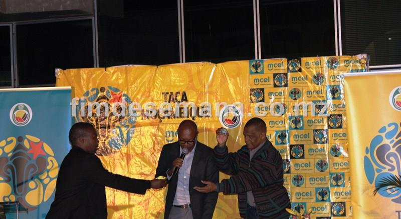 Sorteio da Taca de Moçambique mcel 2016