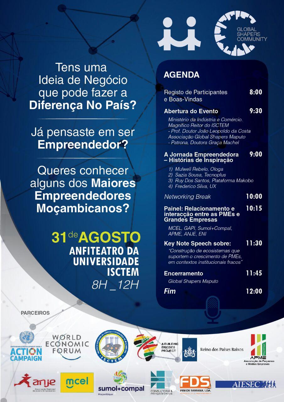 Comunidade Global Shapers iniciativa do Fórum Económico Mundial