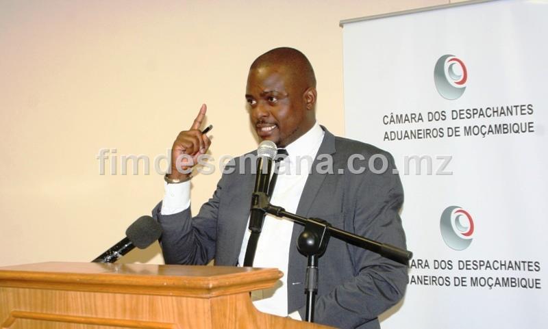 Dixon Chongo Presidente da Câmara dos Despachantes Aduaneiros de Moçambique