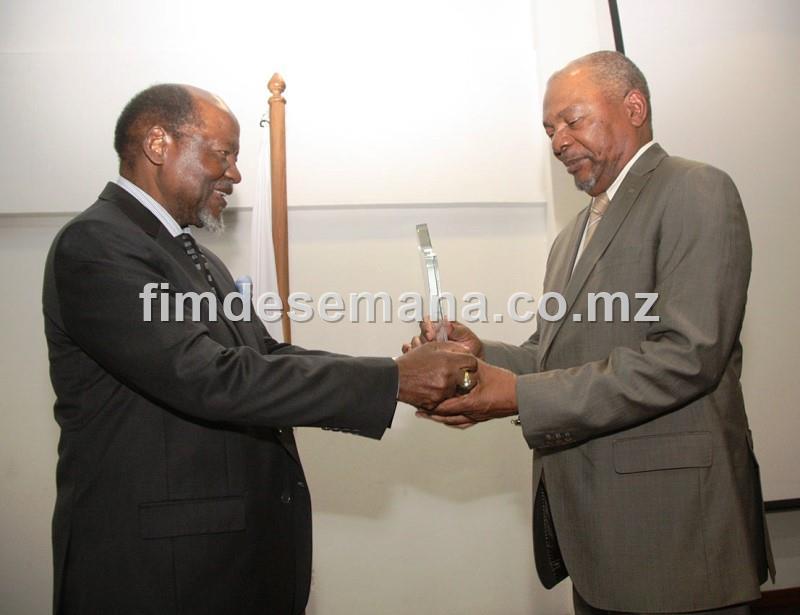 Entrega do Prémio Nacional Joaquim Alberto Chissano