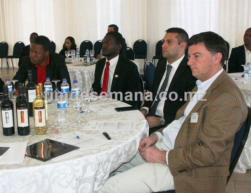 Participantes no Forúm Empresarial Chile Moçambique