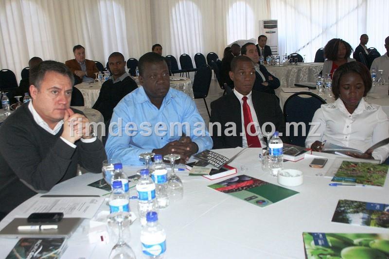 Participantes no Forúm Empresarial Chile Moçambique 1