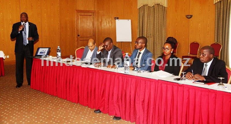 Participantes no Workshop de auscultaçao sobre a Proposta de Lei de Garantias Mobiliárias