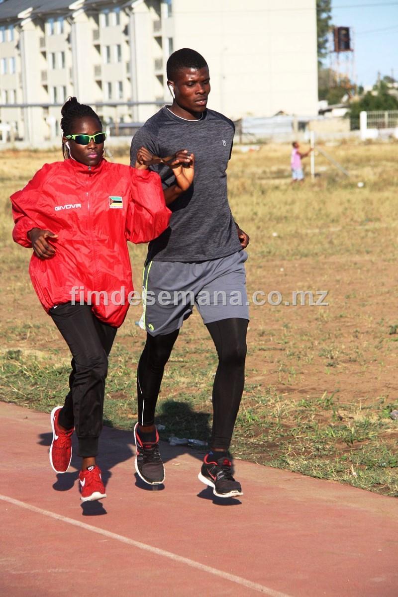 Preparaçao da atleta Edmilsa Governo para os jogos paralímpicos
