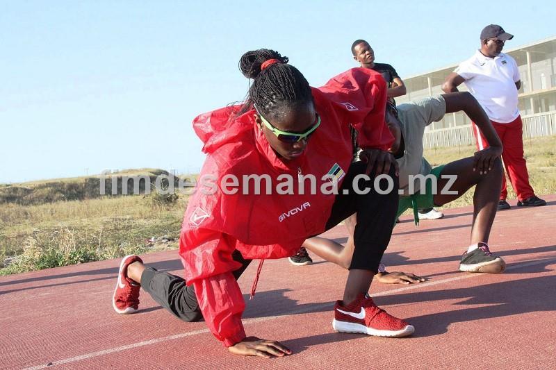 Preparaçao da atleta Edmilsa Governo para os jogos paralímpicos 1