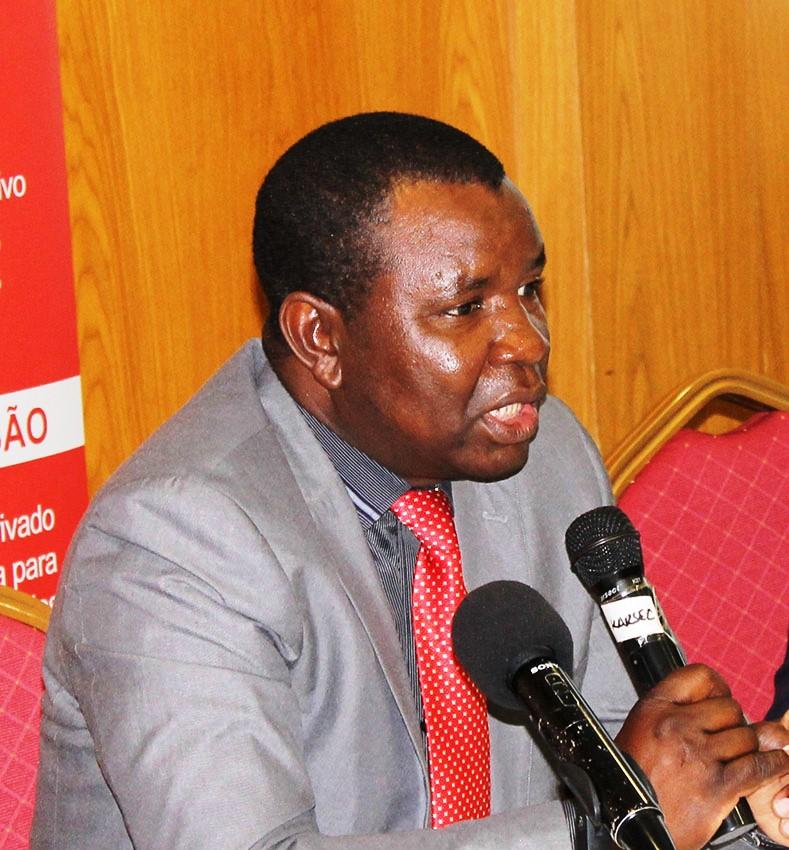 Vasco Nhabinde director de Estudos Económicos e Financeiros do Ministério da Economia e Finanças