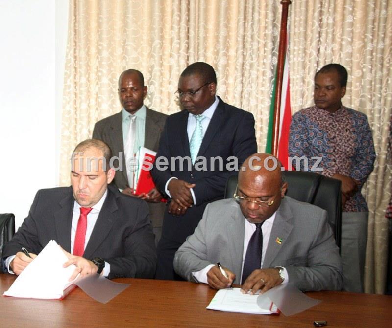 Assinatura de adendas de contratos de concessao do Corredor Logístico do Norte CLN e Corredor de Desenvolvimentode Norte CDN